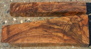 Hunski Select Marblecake English Walnut 2pc Gunstock
