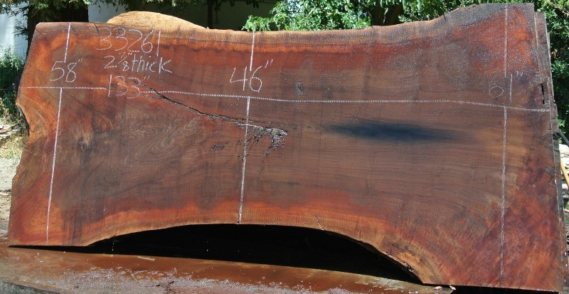 Large 40 Wide By 10 Long Black Walnut Slabs