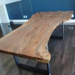 Custom Bastogne Walnut Conference Table