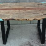 Custom Live Edge Tree of Paradise Desk