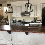 Custom Flooring Style Kitchen Island