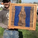 Resin and Wood Wall Art
