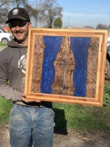 Resin and Wood Wall Art