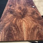Beautiful Custom Bookmatched Claro Walnut Dining Tables