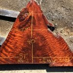 Just Listed! Beautiful Curly Old Growth Redwood Slabs Salvaged from Ancient Redwood Stumps