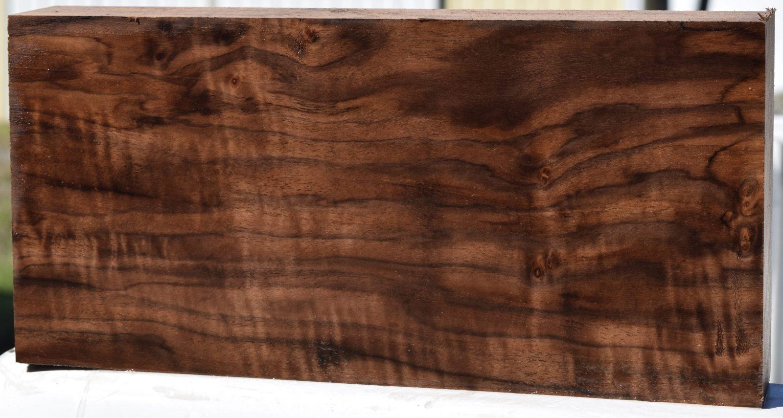 c240ca25b88 HCL-6 Highly Figured Claro Walnut Board Block 12