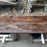 Custom Uplift and Claro Walnut Desk Combo