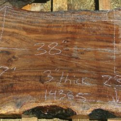 Dry Figured 2ft-7ft long Walnut Slabs