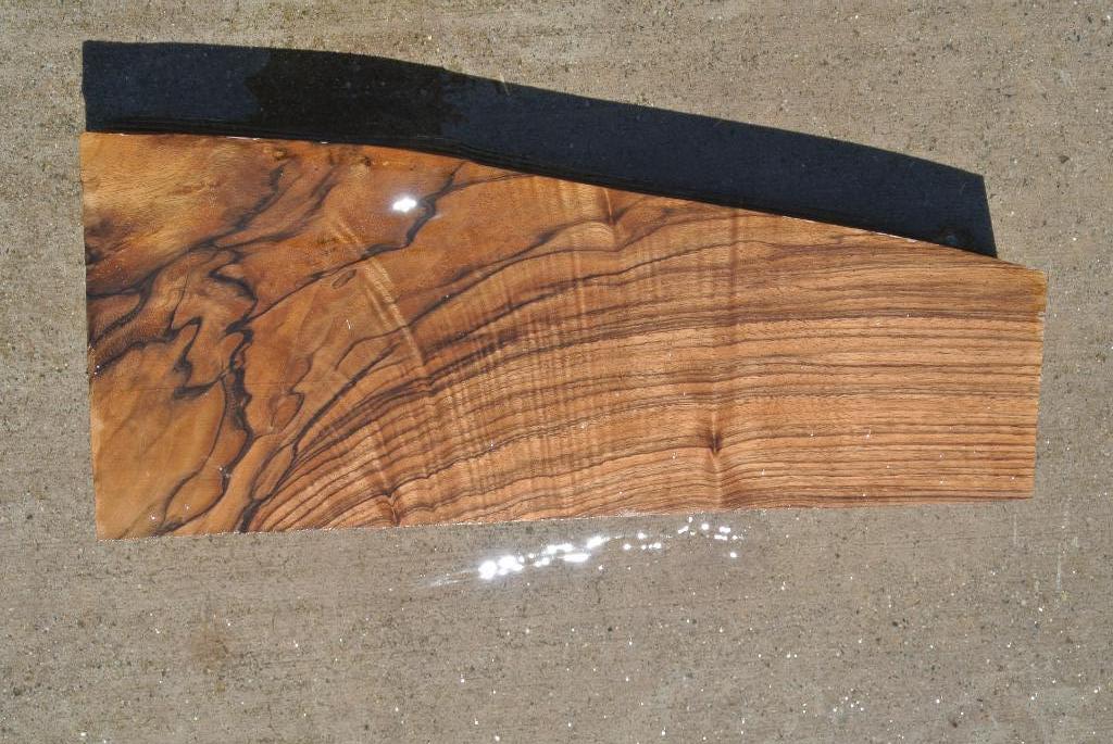 204 English Walnut Wood Gunstock 2pc Blank Salvaging And