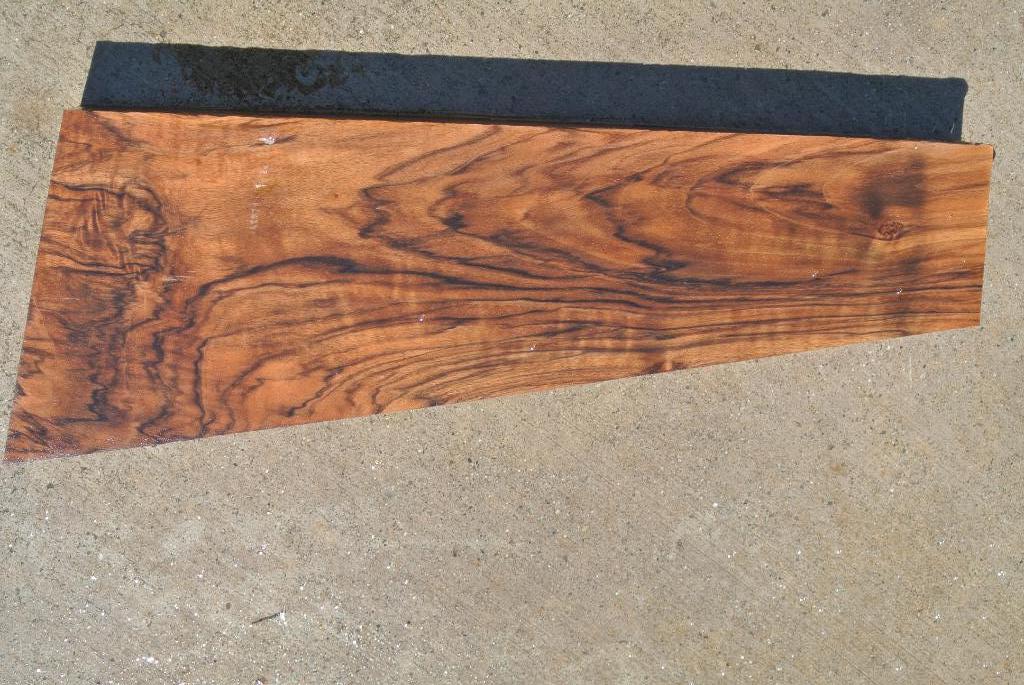 308 Hunski Select English Walnut Wood Gunstock 2pc Blank