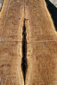33602 Figured Bookmatched Claro Walnut Slabs 141 Quot X42 Quot 31